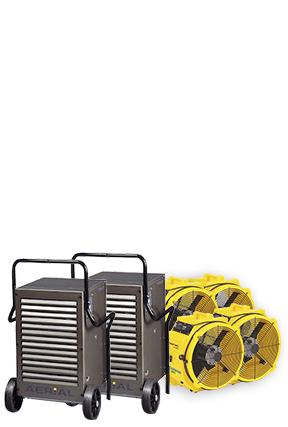 Bautrockner Spar-Paket 4 - 180 qm