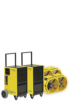 Bautrockner Spar-Paket 3 - 180 qm